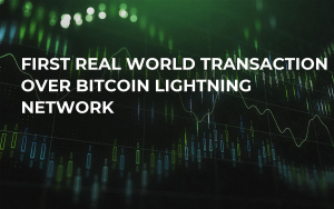 First Real World Transaction Over Bitcoin Lightning Network