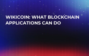 WikiCoin: What Blockchain Applications Can Do