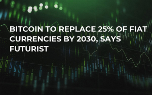Bitcoin to Replace 25% of Fiat Currencies by 2030, Says Futurist