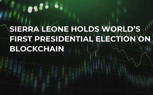 Sierra Leone Holds World's First Presidential Election on Blockchain