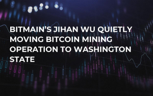 Bitmain's Jihan Wu Quietly Moving Bitcoin Mining Operation to Washington State