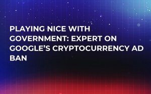 Playing Nice With Government: Expert on Google's Cryptocurrency Ad Ban