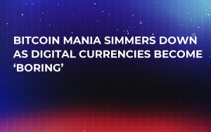 Bitcoin Mania Simmers Down as Digital Currencies Become 'Boring'