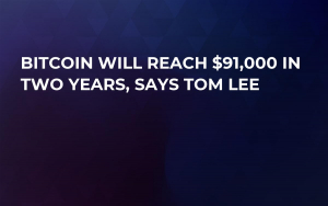 Bitcoin Will Reach $91,000 in Two Years, Says Tom Lee