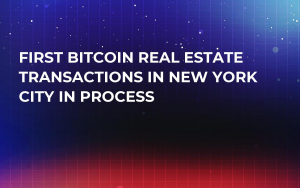 First Bitcoin Real Estate Transactions in New York City in Process