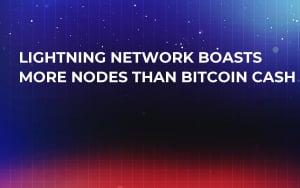 Lightning Network Boasts More Nodes Than Bitcoin Cash
