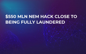 $550 Mln NEM Hack Close to Being Fully Laundered