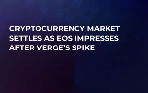 Cryptocurrency Market Settles as EOS Impresses After Verge's Spike