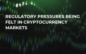 Regulatory Pressures Being Felt in Cryptocurrency Markets