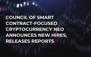 Council of Smart Contract-Focused Cryptocurrency NEO Announces New Hires, Releases Reports