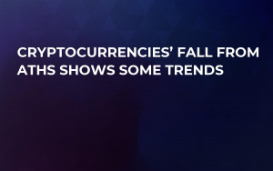 Cryptocurrencies' Fall From ATHs Shows Some Trends