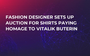 Fashion Designer Sets Up Auction For Shirts Paying Homage to Vitalik Buterin