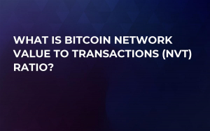 What is Bitcoin Network Value to Transactions (NVT) Ratio?