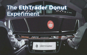 The EthTrader Donut Experiment: Reddit's Community Governance on Ethereum