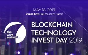 THE WAY SUMMIT: BLOCKCHAIN TECHNOLOGY INVEST DAY 2019