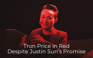 Tron Price in Red Despite Justin Sun's Promise of Big Announcement on June 3