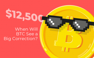 Bitcoin Price Surges Above $12,500. When Will BTC See a Big Correction?