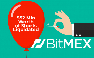 $52 Mln Worth of Shorts Liquidated on BitMEX Exchange