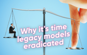 The Leverage Pandemic: Why it's time legacy models eradicated leverage