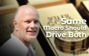 Bitcoin and Gold Should Be Driven by Same Macro: Galaxy Digital CEO Mike Novogratz