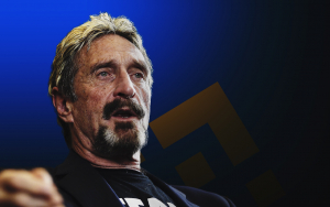 John McAfee Finds Secret Binance Referral Link in the Address of His Crypto DEX