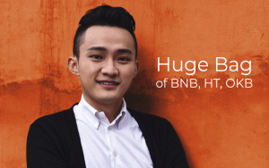 Tron CEO Justin Sun Reveals Holding 'Huge Bag' of BNB, HT, OKB - Will Huobi and OKEx Become New Tron SRs?