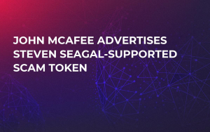 John McAfee Advertises Steven Seagal-Supported Scam Token