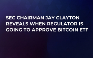 SEC Chairman Jay Clayton Reveals When Regulator Is Going to Approve Bitcoin ETF
