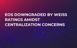 EOS Downgraded by Weiss Ratings Amidst Centralization Concerns