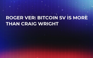 Roger Ver: Bitcoin SV Is More Than Craig Wright
