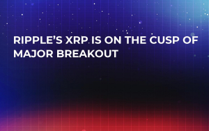 Ripple's XRP Is on the Cusp of Major Breakout