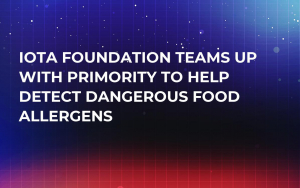 IOTA Foundation Teams Up with Primority to Help Detect Dangerous Food Allergens