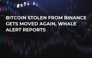 Bitcoin Stolen from Binance Gets Moved Again, Whale Alert Reports