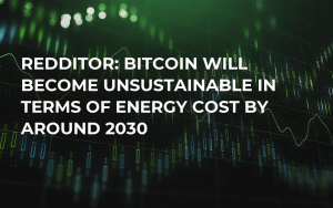 Redditor: Bitcoin Will Become Unsustainable in Terms of Energy Cost by Around 2030