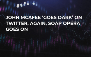 John McAfee 'Goes Dark' on Twitter, Again, Soap Opera Goes On