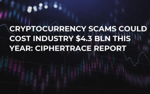 Cryptocurrency Scams Could Cost Industry $4.3 Bln This Year: CipherTrace Report