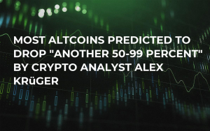 "Most Altcoins Predicted to Drop ""Another 50-99 Percent"" by Crypto Analyst Alex Krüger"