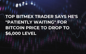 "Top BitMEX Trader Says He's ""Patiently Waiting"" for Bitcoin Price to Drop to $6,000 Level"