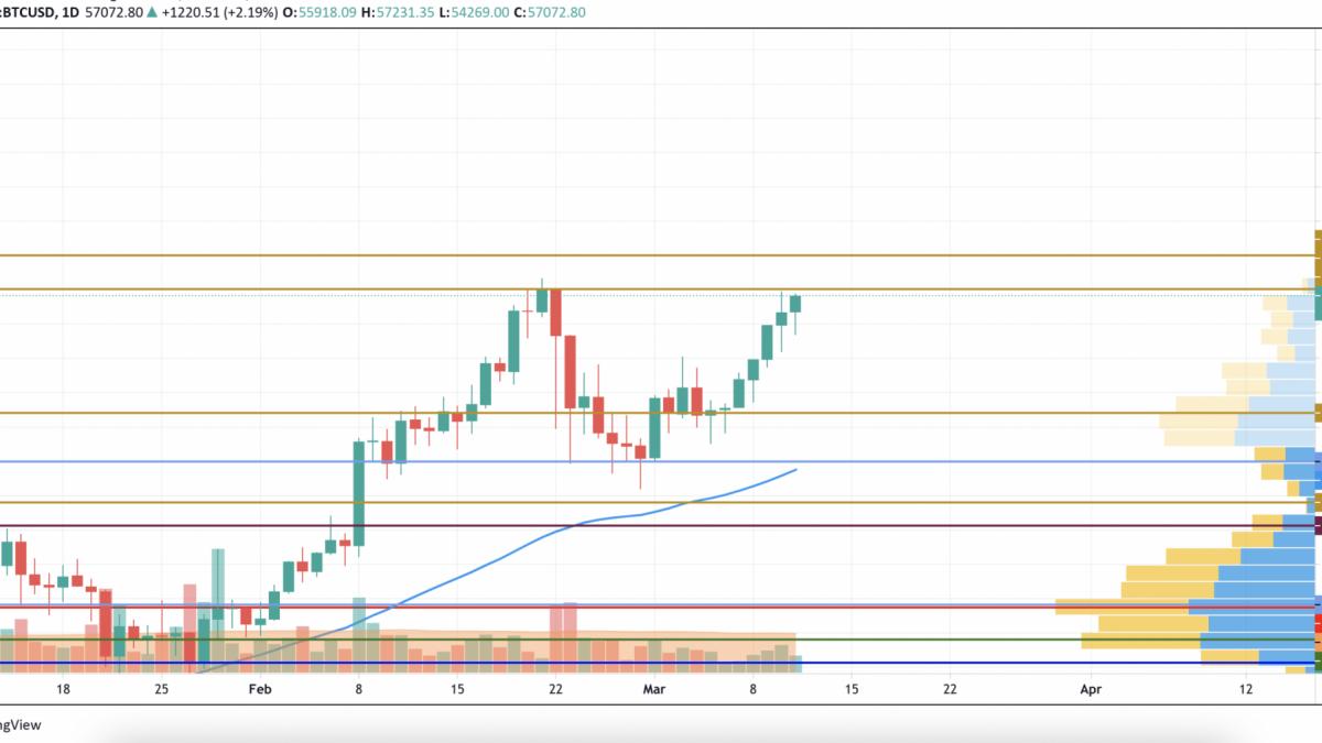 BTC/USD chart by TradingVie