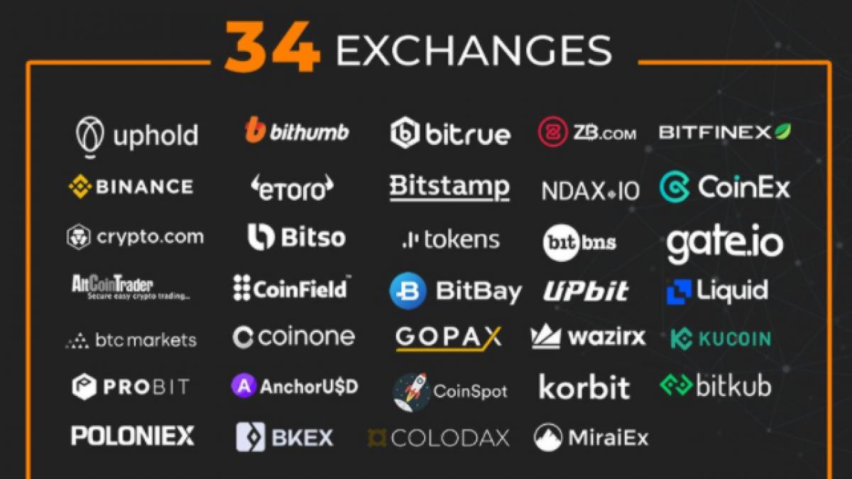 34 exchanges