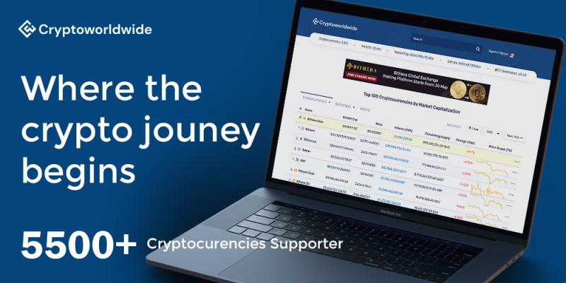 5500 cryptocurrencies supported