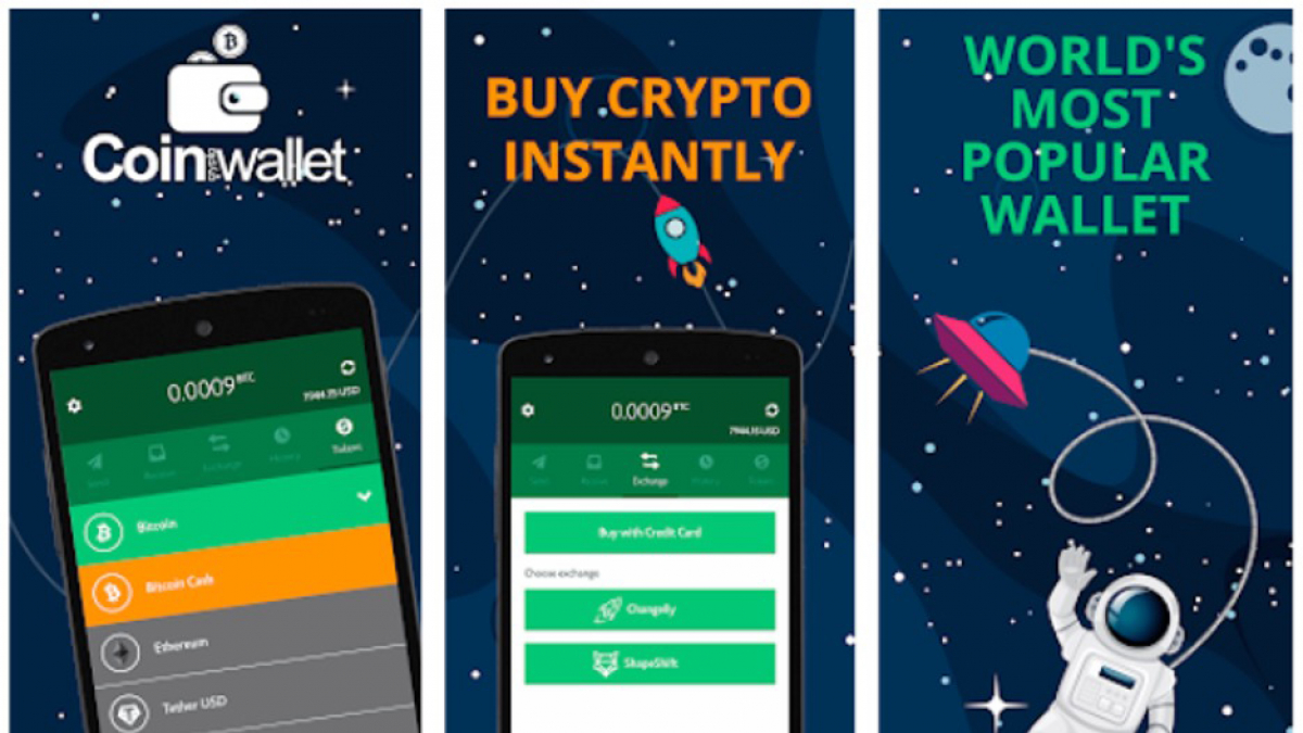 Coin Wallet is available for desktop and mobile devices