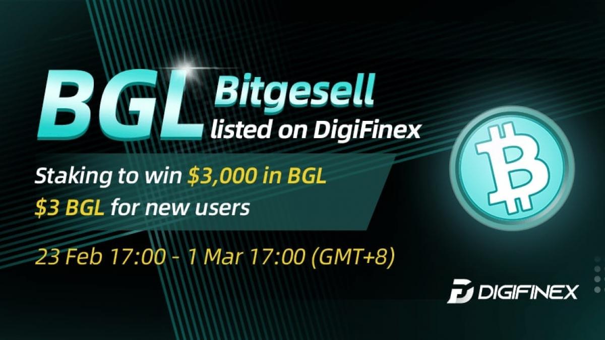 BitGesell lists BGL token on DigiFinex exchange