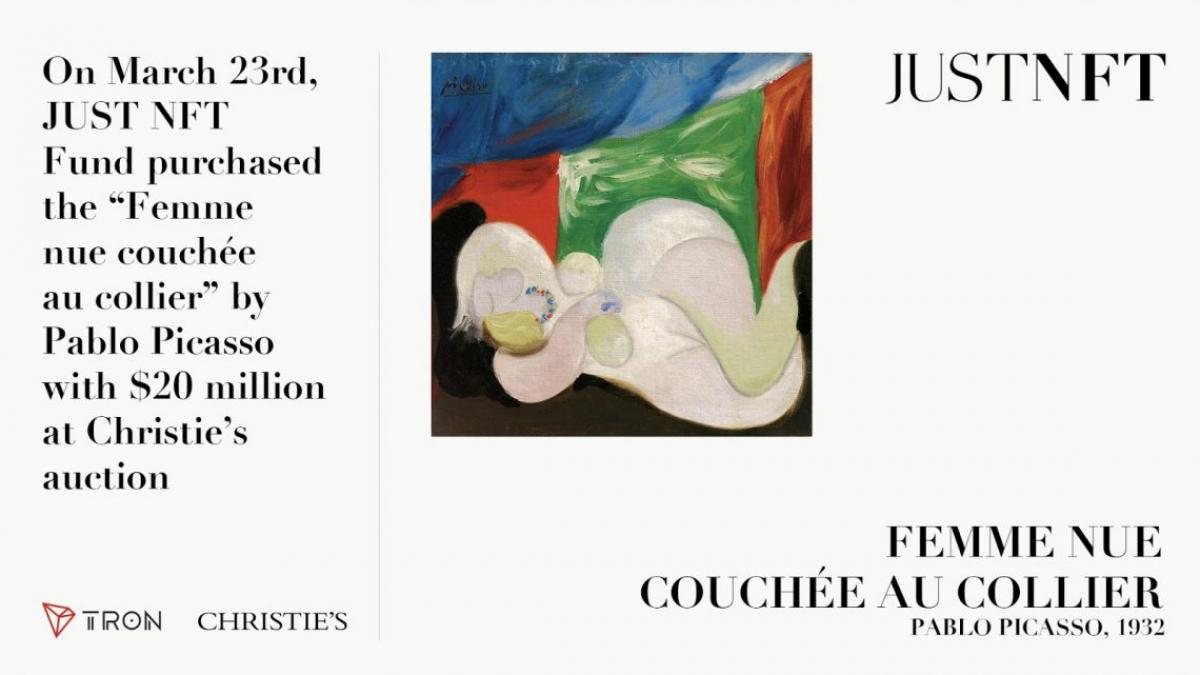 Pablo 'Picasso Femme nue couchée au collier'