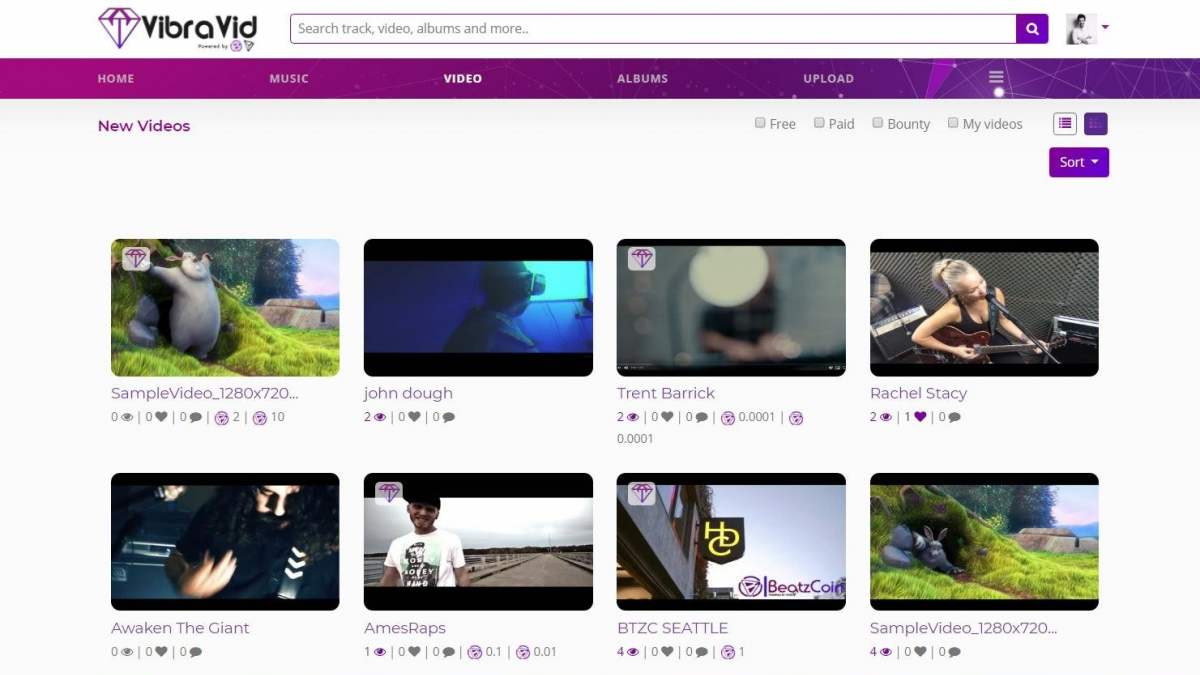 Final Beta Testing of VibraVid Platform Powered by BeatzCoin