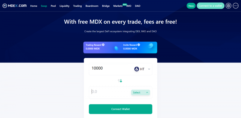 MDEX brings on-chain trading to BSC and HECO