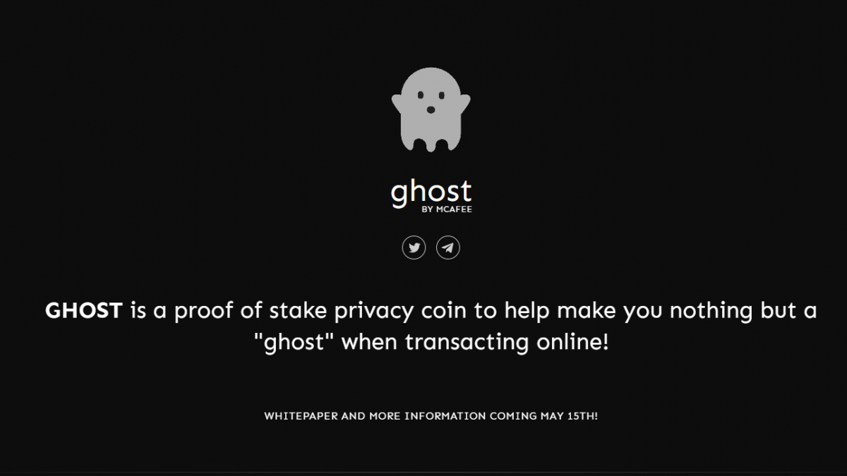 GHOST McAfee