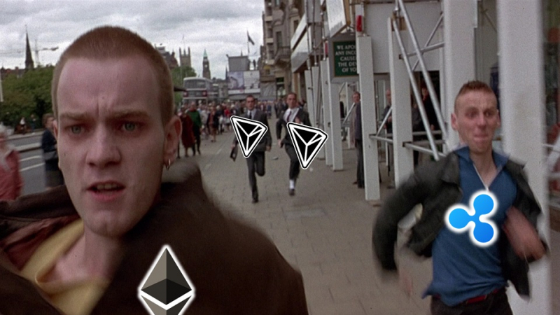 Positive, compared to Ethereum
