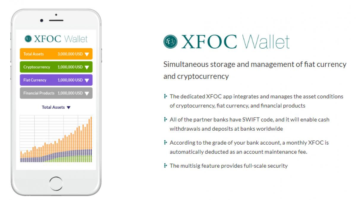 XFOC Wallet Interface