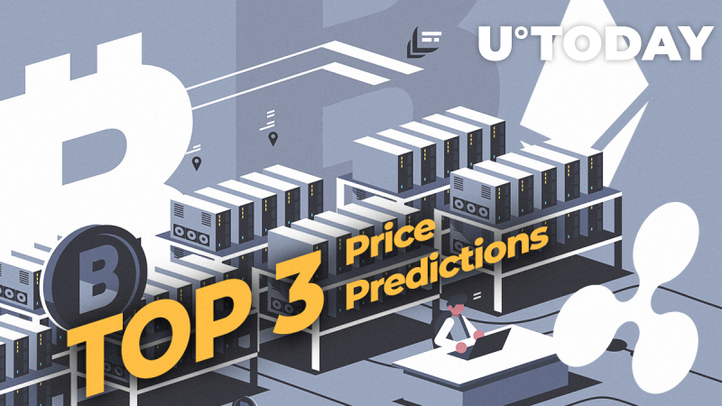 TOP 3 Price Predictions: Bitcoin (BTC), Ethereum (ETH), Ripple (XRP) — Bitcoin Is Leading the Whole Market. $200 Billion Market Cap Is on the Way